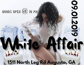 White Affair Flyer
