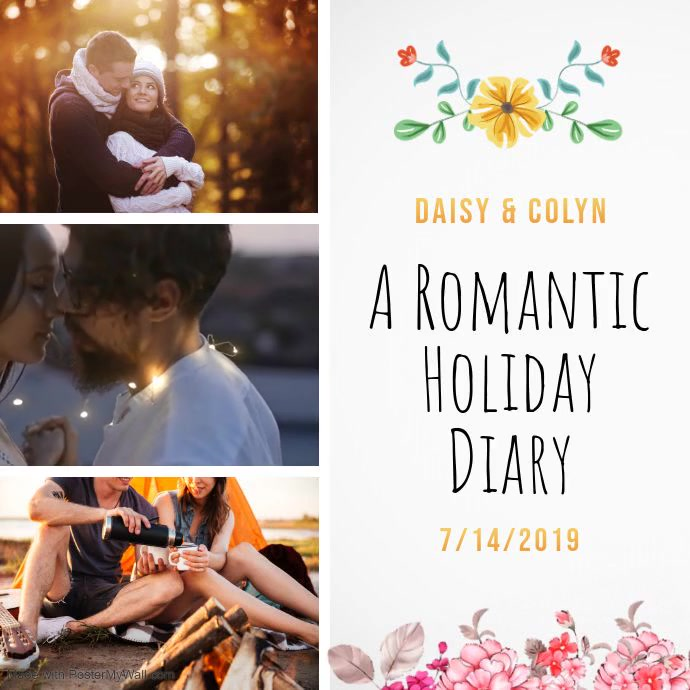 White Romantic Collage Square Video