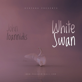 White Swan CD Mixtape Cover Template