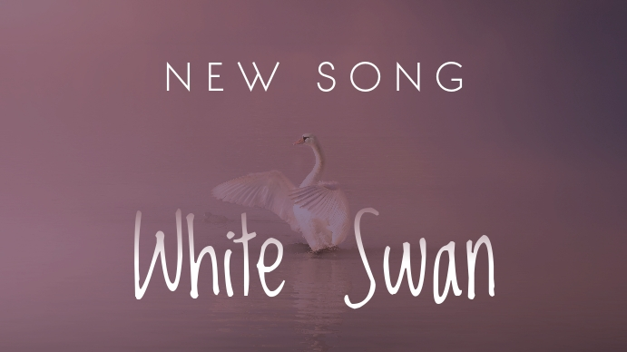White Swan Youtube Thumbnail YouTube-Miniaturansicht template