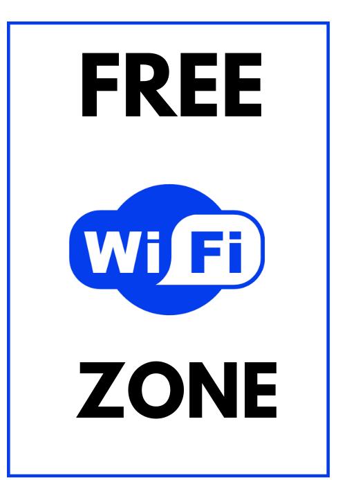 Brosur Wifi Wifi Templat Postermywall