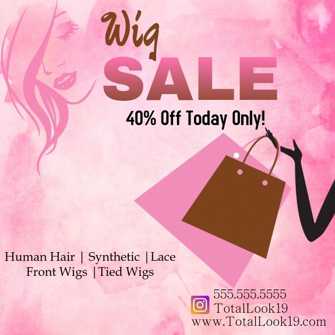 Wig Sale