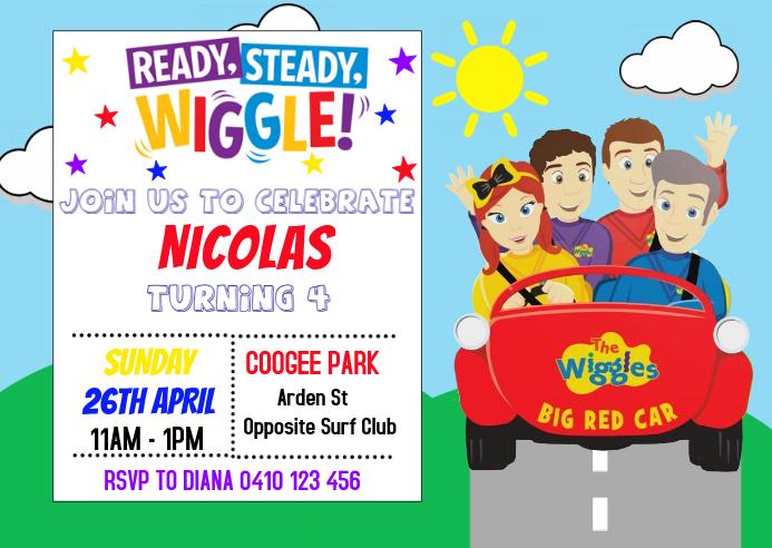 Wiggle Invitation