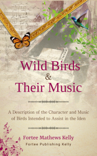 Wild birds Kindle music book cover template