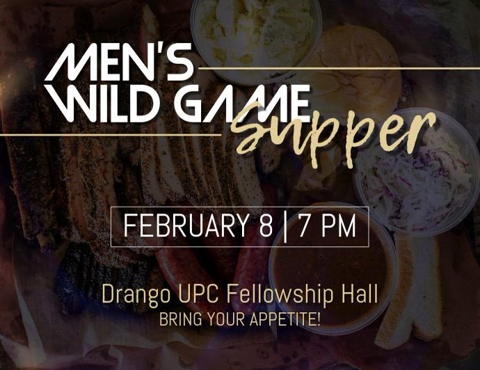 WIld Game Supper
