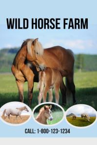 Wild Horse Farm Template