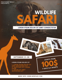Wildlife Safari Flyer Template