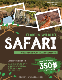 Wildlife Safari Flyer Template