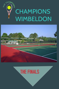 wimbeldon flyer,event flyer