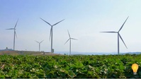 Wind mill electricity generation video Miniatura di YouTube template