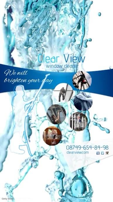 Window Cleaner Video Advert