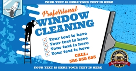 WINDOW CLEANING BANNER