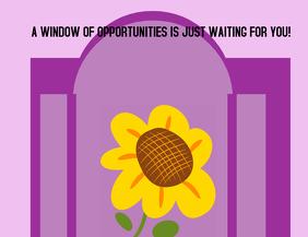 Window of opportunities