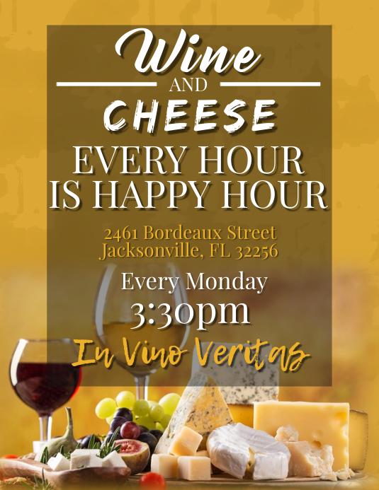 Wine & Cheese Happy Hour