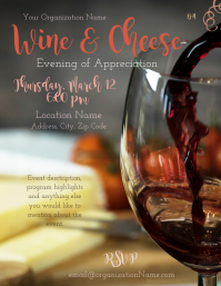 Wine and Cheese Event
