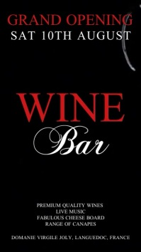 Wine Bar Video Template