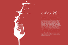 Wine Business information template