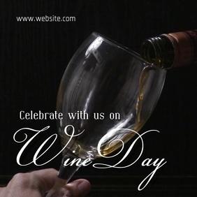 Wine day Quadrato (1:1) template