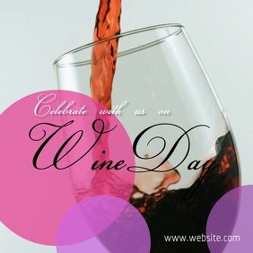 Wine day Isikwele (1:1) template