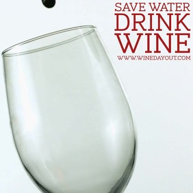 Wine day Square (1:1) template