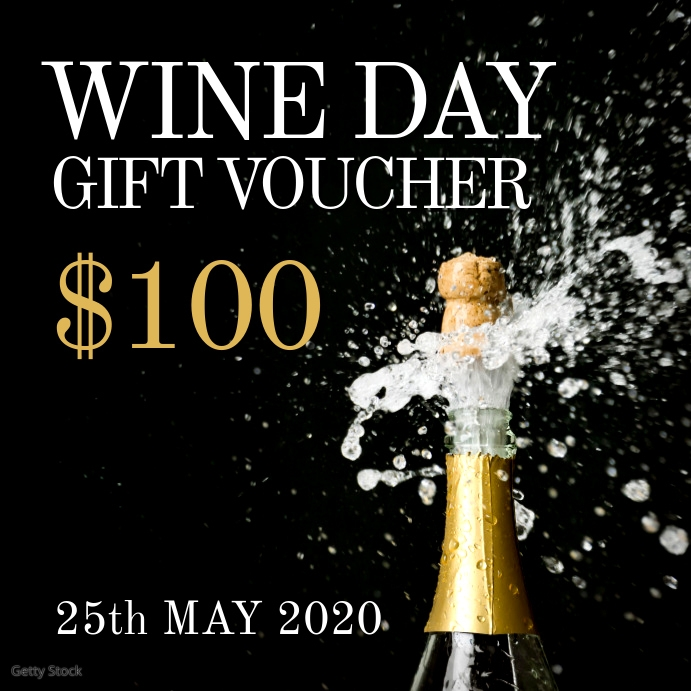 Wine day Gift Voucher