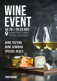 Wine Event Dine Glass Apero Expo Seminar Ad