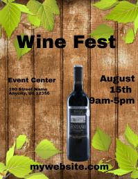 Wine Fest Flyer