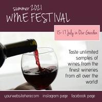 Wine Fest Summet Insta Video template