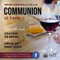 Wine glass online communion service instagram