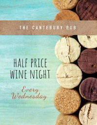wine night Flyer