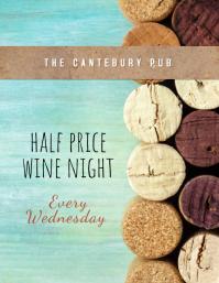 wine night Flyer