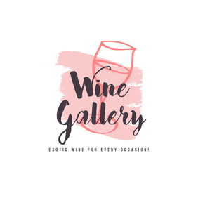 Wine Restaurant Logo