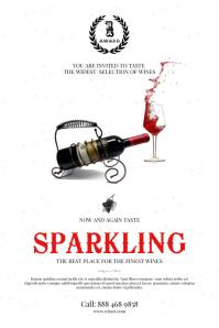 Wine Taste Event Poster