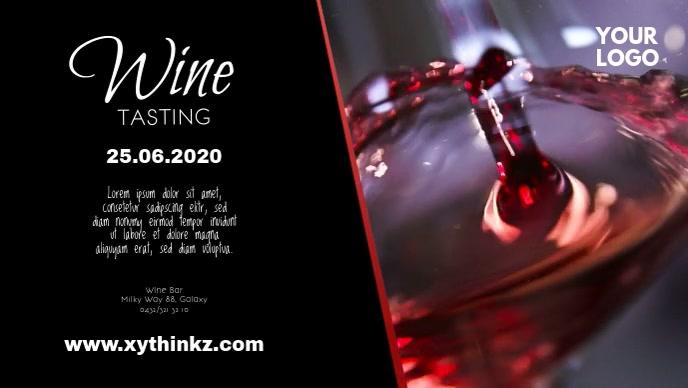 Wine Tasting Bar Shop Store Event Fair Advert