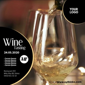 Wine Tasting Event Seminar Expo Bar Video