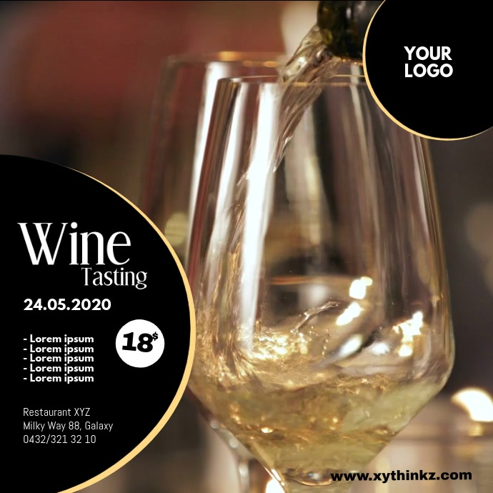 Wine Tasting Event Seminar Expo Bar Video