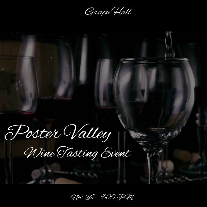 Wine Tasting Event video