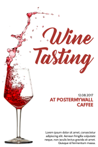 230 Customizable Design Templates For Wine Postermywall