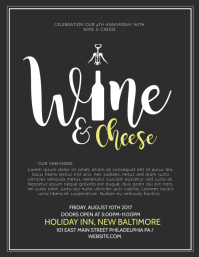 Customizable design templates for wine tasting postermywall wine tasting wine tasting flyer template pronofoot35fo Images