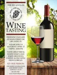 Wine Tasting Flyer Video Template