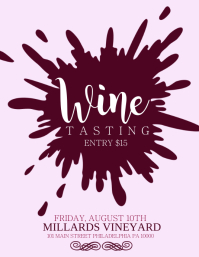 Customizable Design Templates For Wine Tasting