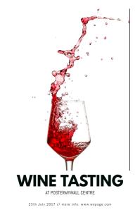 Wine Tasting Flyer Template