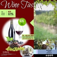 Customizable Design Templates for Wine Tasting Flyer | PosterMyWall