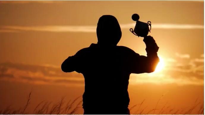Winer Man Foto di copertina del canale YouTube template