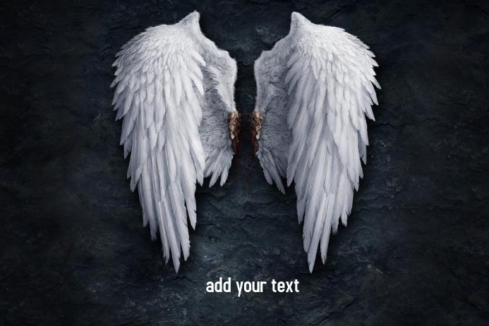Wings Plakkaat template