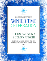 Winter Celebration Party Event Template