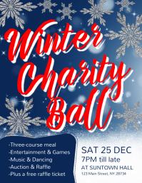 Winter Charity Ball Flyer