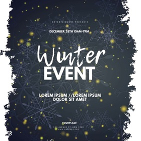 Winter Christmas Event Instagram video