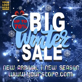 Winter Christmas Sale