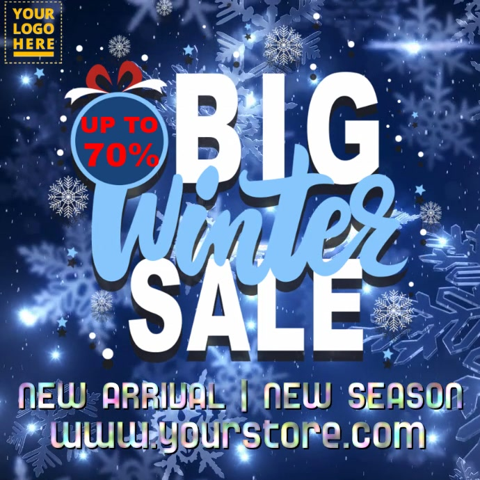Winter Christmas Sale